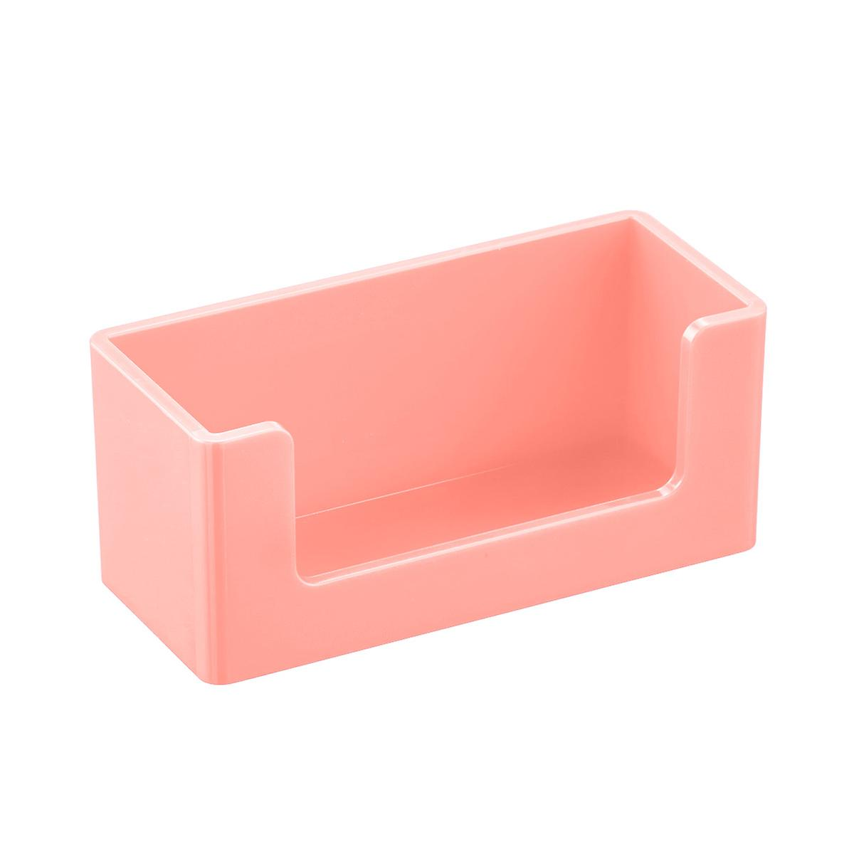 Blush Poppin Business Card Holder | The Container Store
