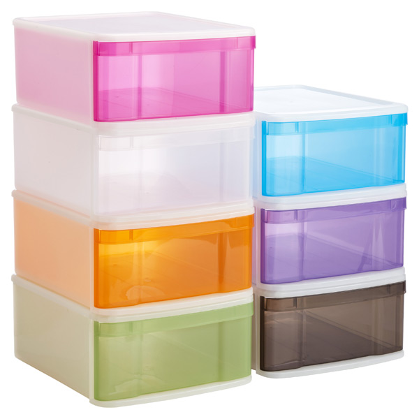 Stackable Drawers Large Tint Stacking Drawer The