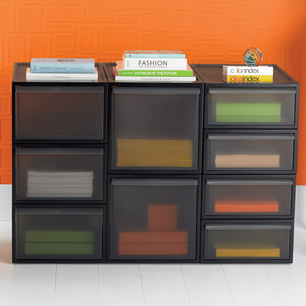 Like-it Smoke Stackable Drawers