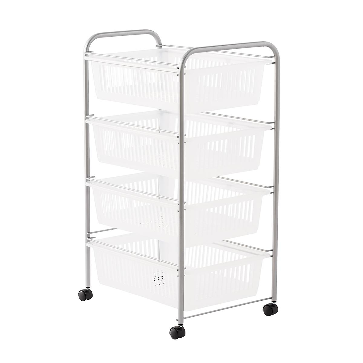 Jumbo 4 Drawer Rolling Cart The Container Store