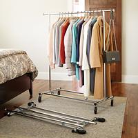 Folding Commercial Garment Rack