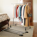 Folding Commercial Garment Rack