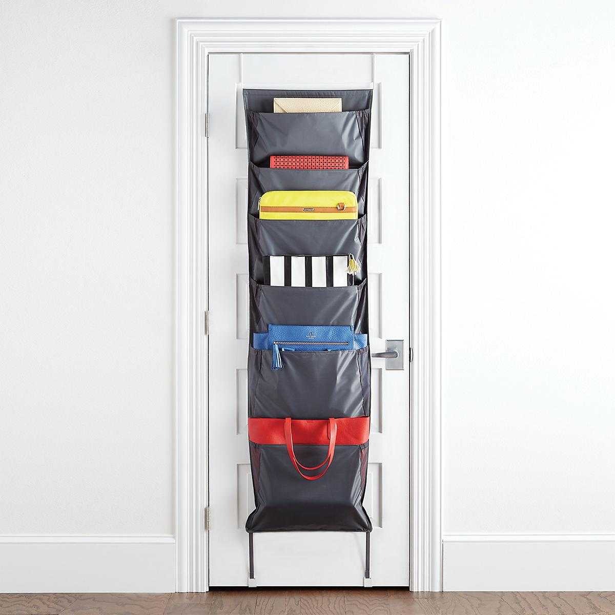 umbra niche over the door accessory organizer the container store. Black Bedroom Furniture Sets. Home Design Ideas