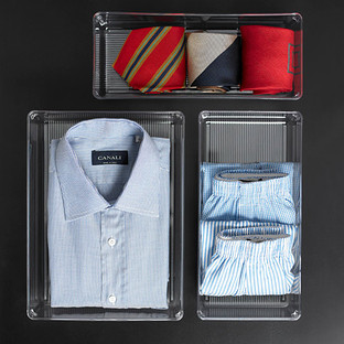 iDesign Linus Closet Drawer Organizers