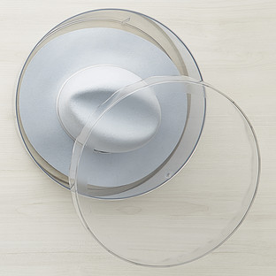 InterDesign Clarity Hat Boxes