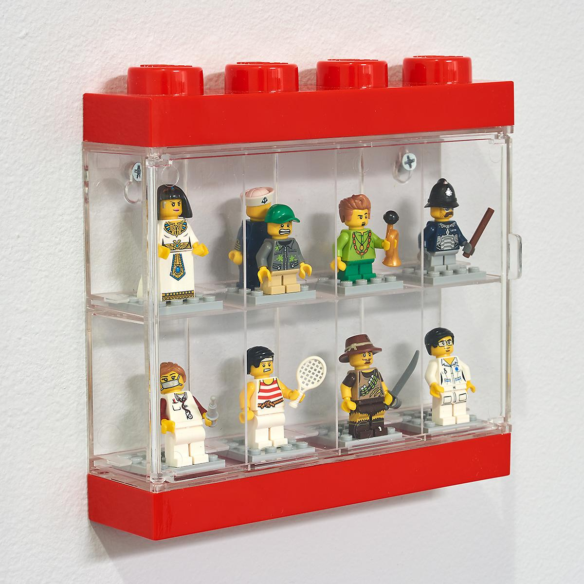 Lego minifigure display case the container store for Case lego city