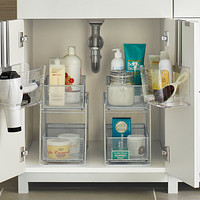 Enjoyable Under Sink Organizers Bathroom Cabinet Storage Interior Design Ideas Ghosoteloinfo