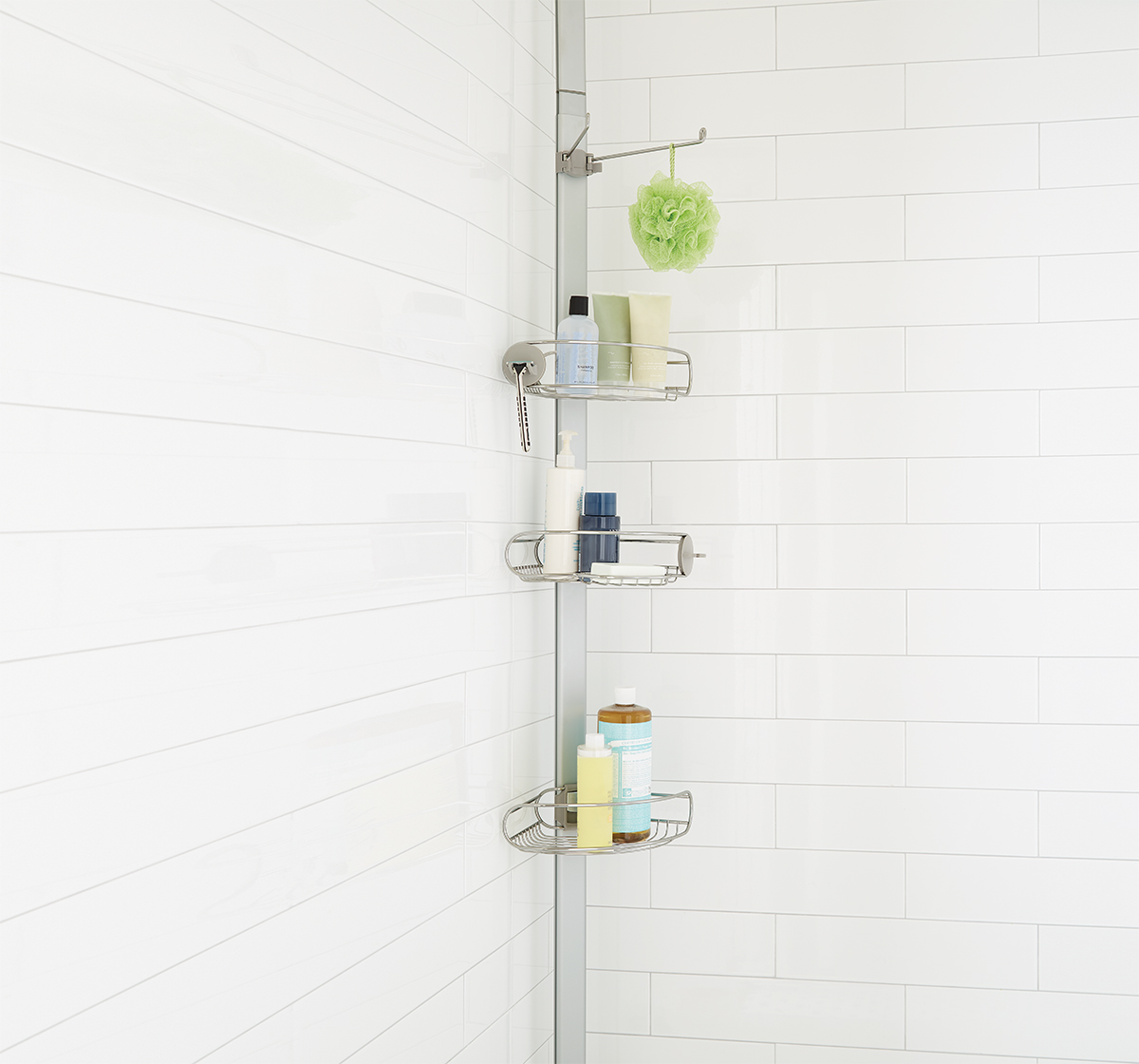 Shower Caddies Shower Shelves Shower Organizers The Container Store