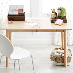 modern sleek desk | the container store