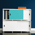 White Vario Stacking Console