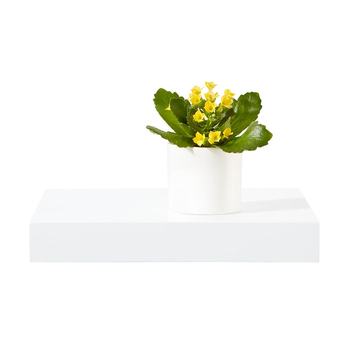 White Floating Display Shelf