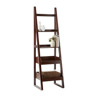 Walnut Encore Narrow Bookshelf