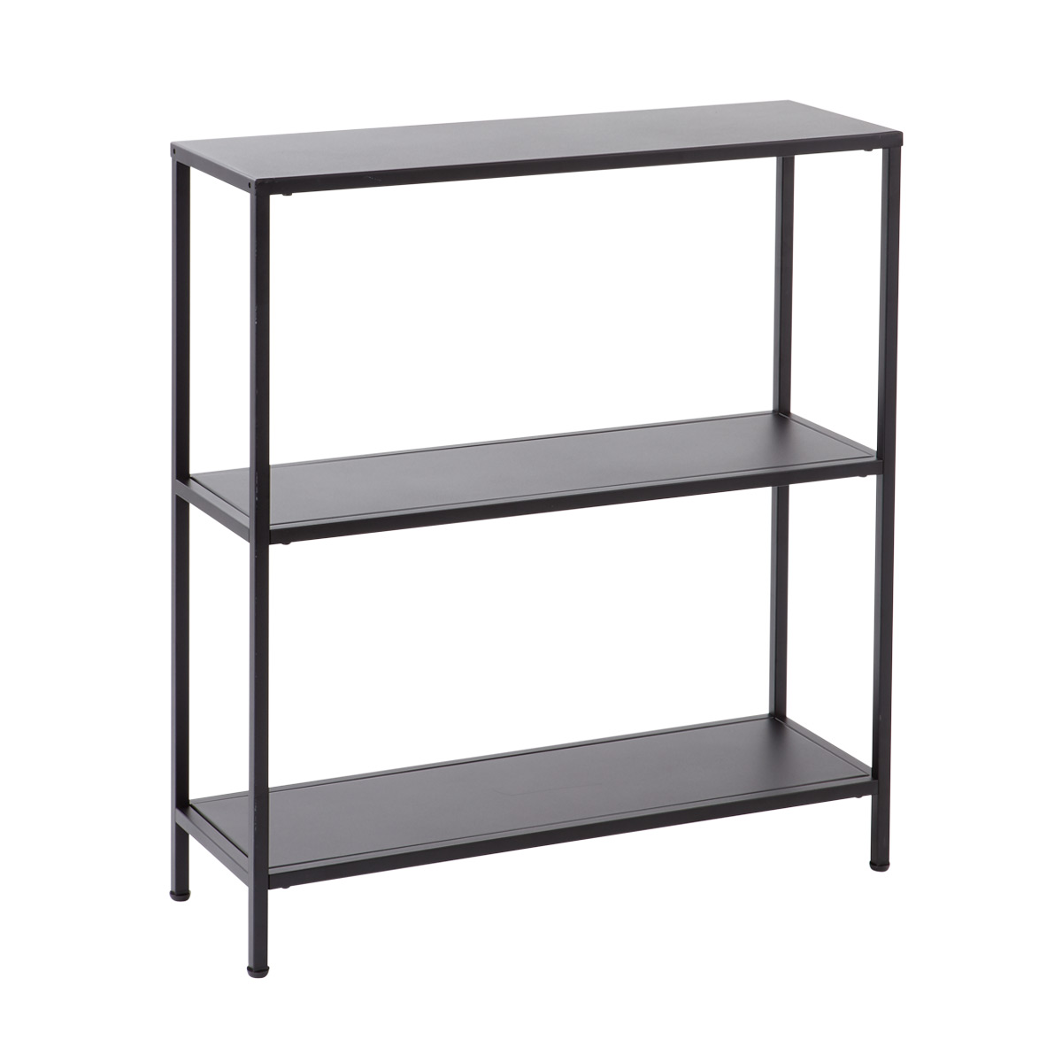 Black Essence 3 Tier Console Table