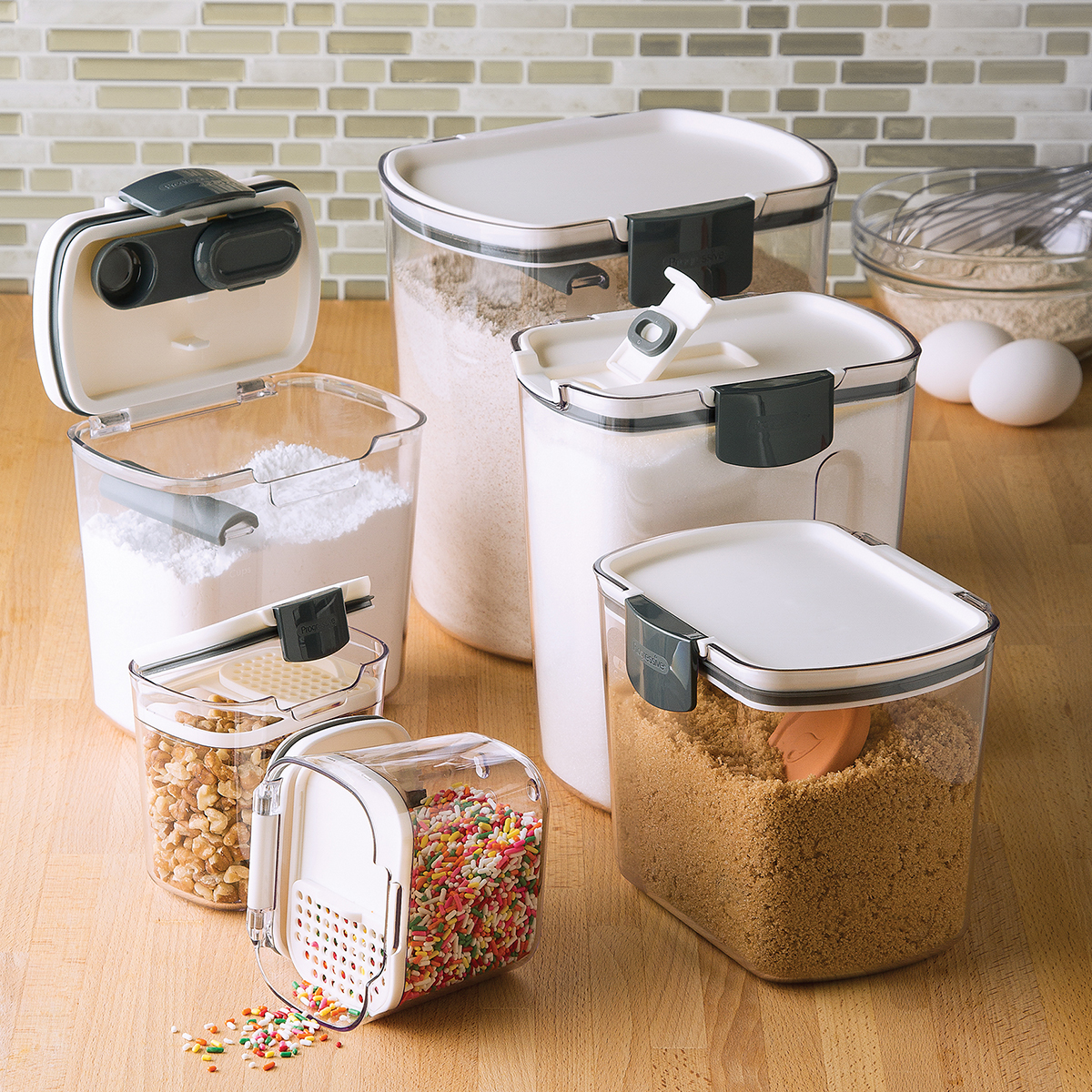 ProKeeper Baker's Storage Set of 6