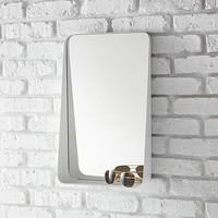 White Vertical Arch Wall  Mirror Product Image