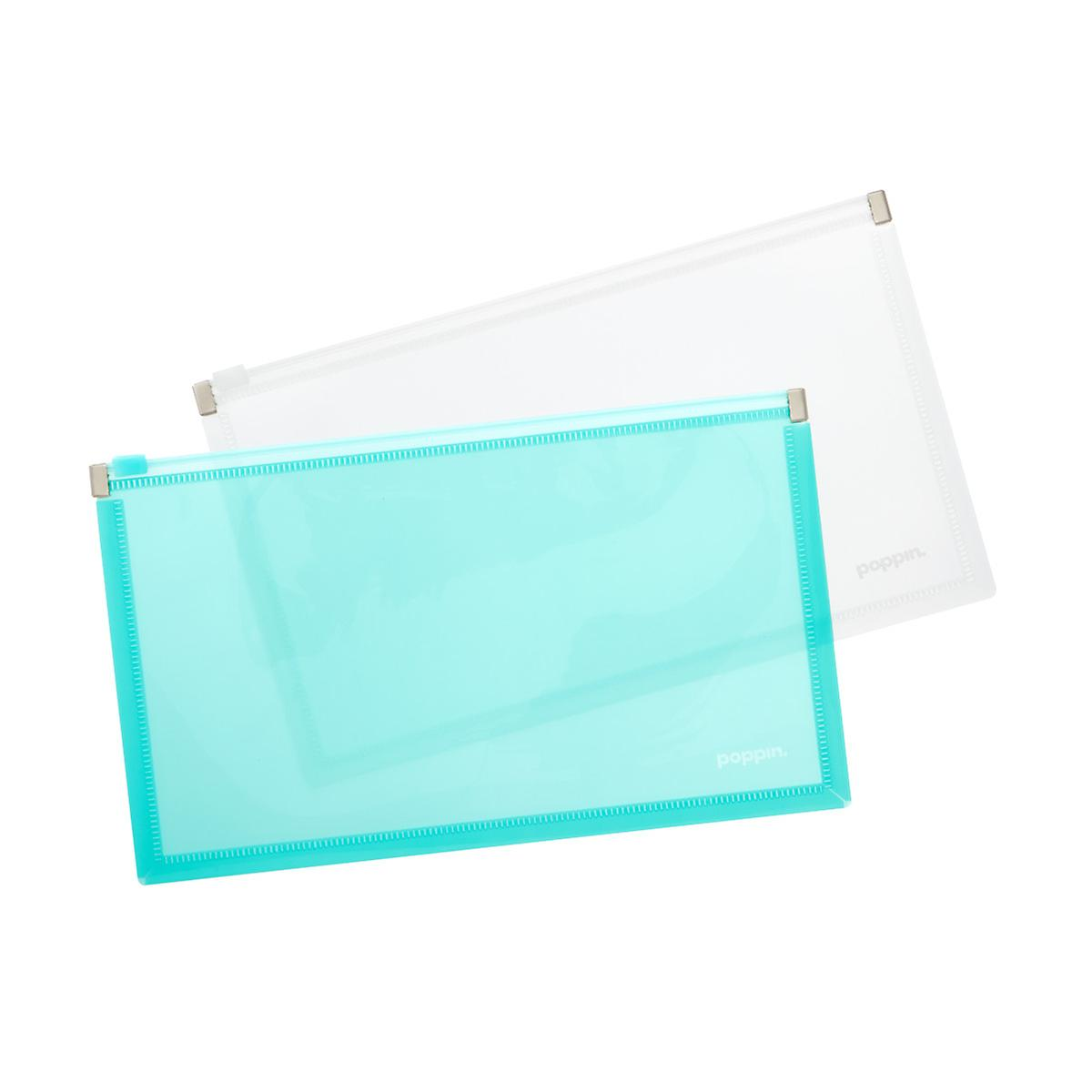 Poppin Small Zip Folios