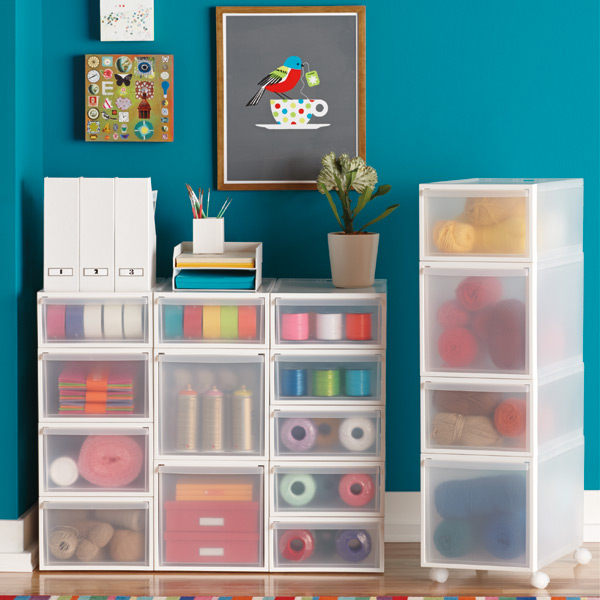 Like-it Translucent Stacking Drawers