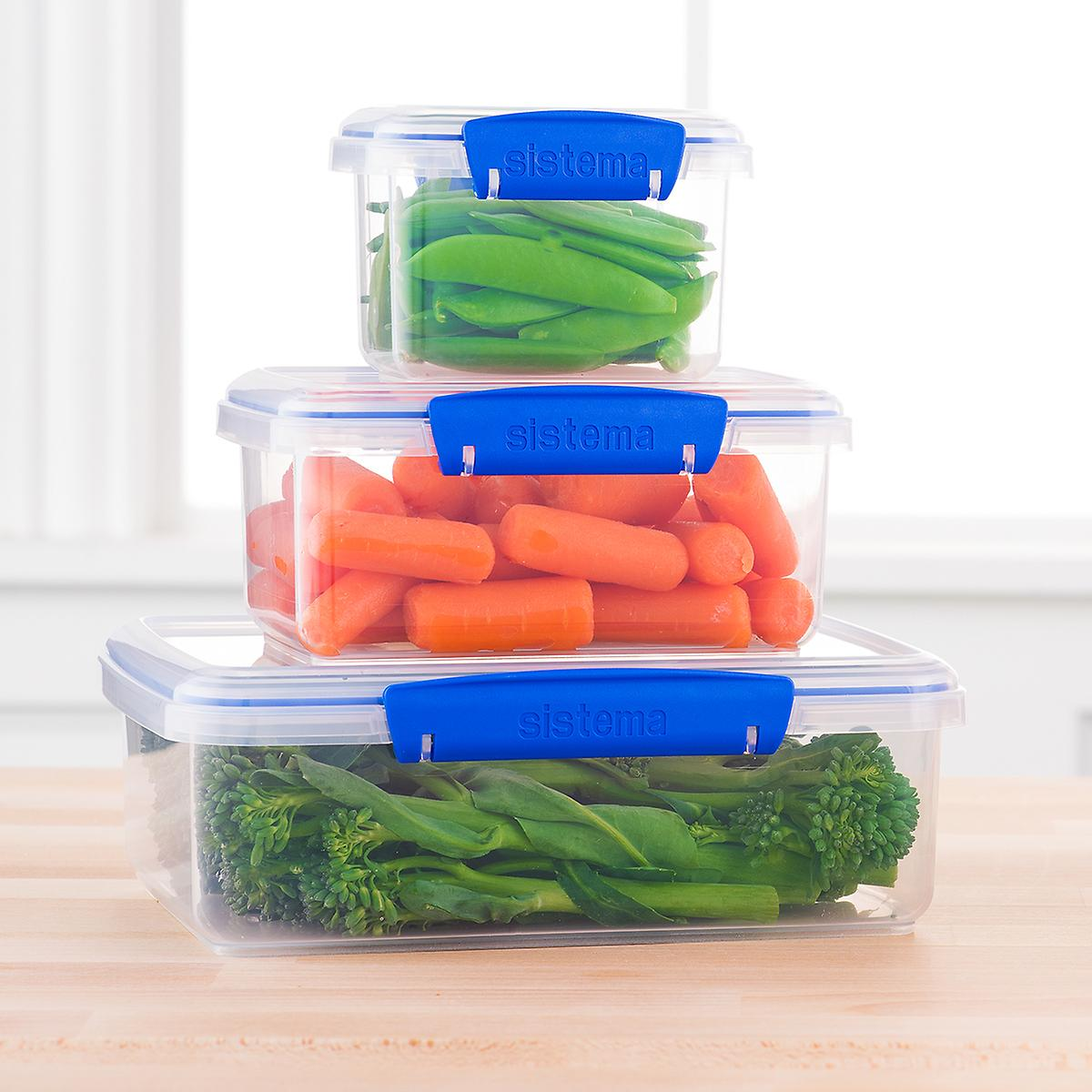 Rectangular Klip-It Food Storage