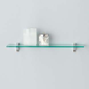 glass shelf clip kits the container store. Black Bedroom Furniture Sets. Home Design Ideas