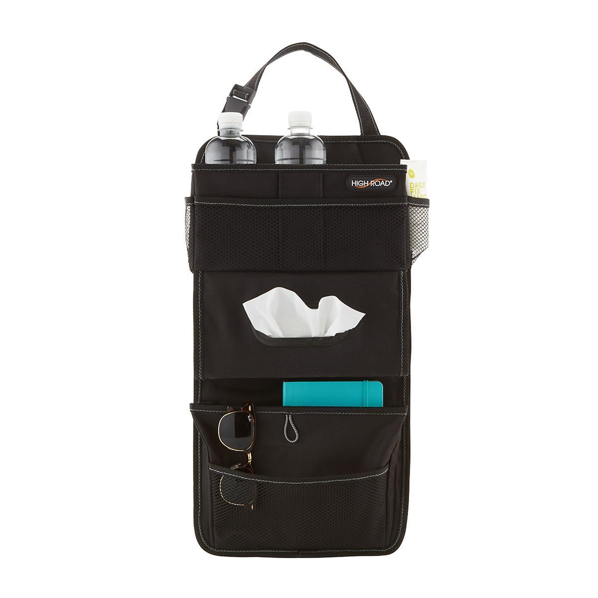 Black Tissue Pocket Seat Organizer