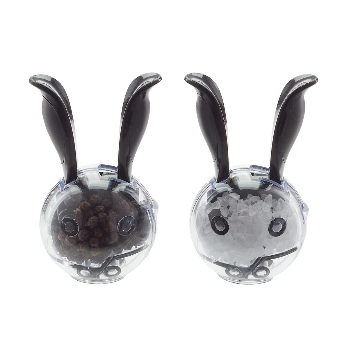 Mini Magnetic Salt & Pepper Grinder Set
