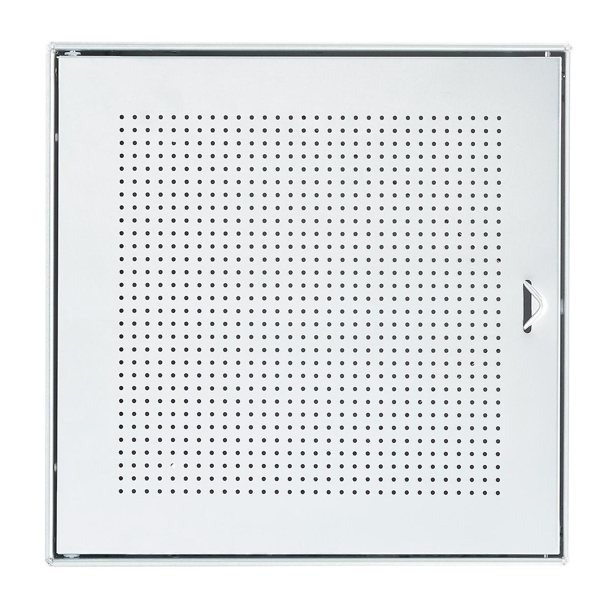 Galvanized QBO Perforated Steel Cube Door