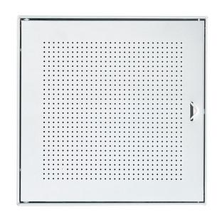 Galvanized QBO Perforated Steel Cube Door