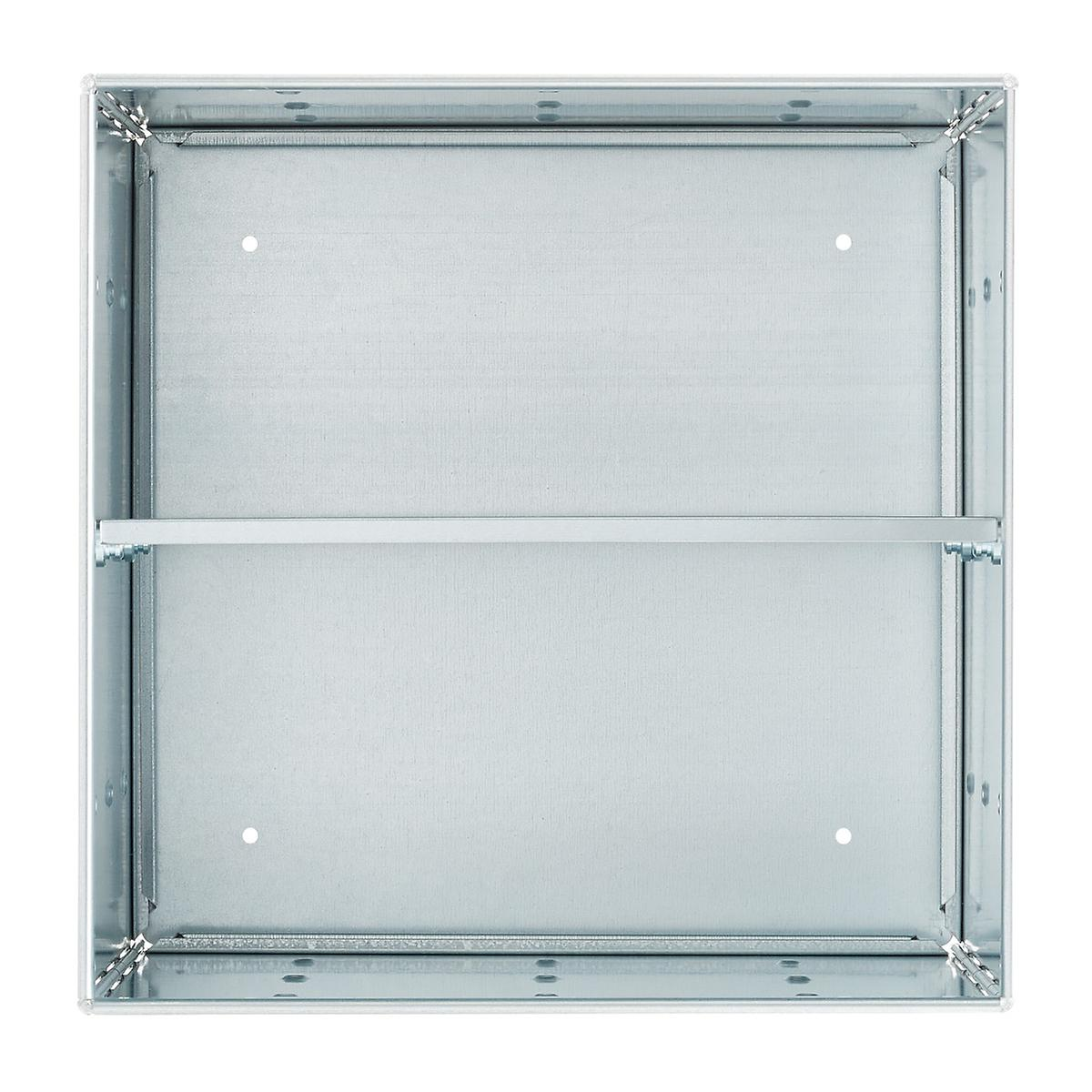 Galvanized QBO Steel Cube Shelf