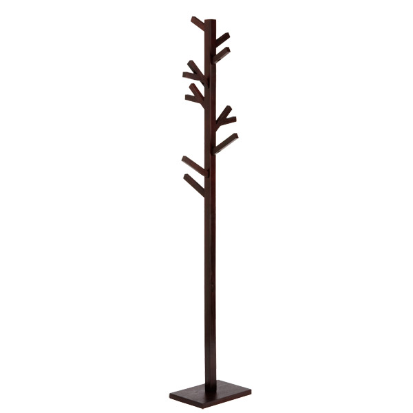 Espresso Branch Coat Rack