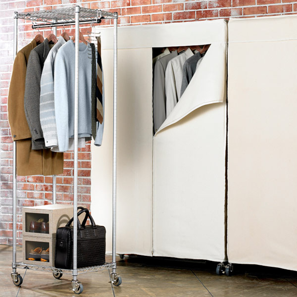 InterMetro Small Clothes Rack