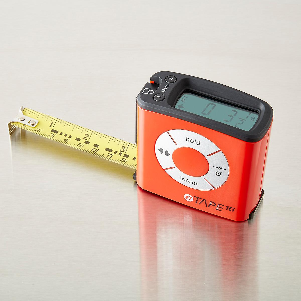 Electronic Tape Measure : Etape digital tape measure the container store