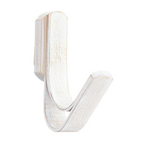 Whitewashed Bamboo Coat Hook