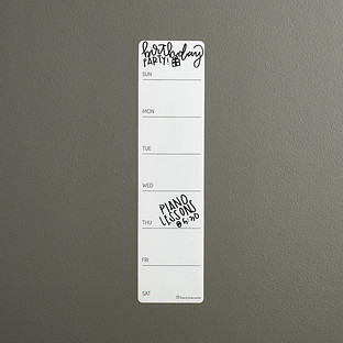 Three by Three Stick-It! Weekly Dry Erase Planner