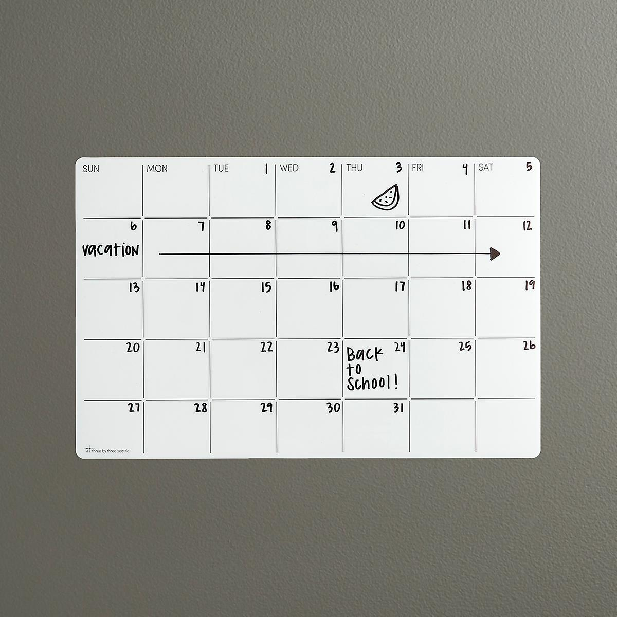 Stick-It Monthly Planner