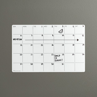 Three by Three Stick-It! Monthly Dry Erase Planner