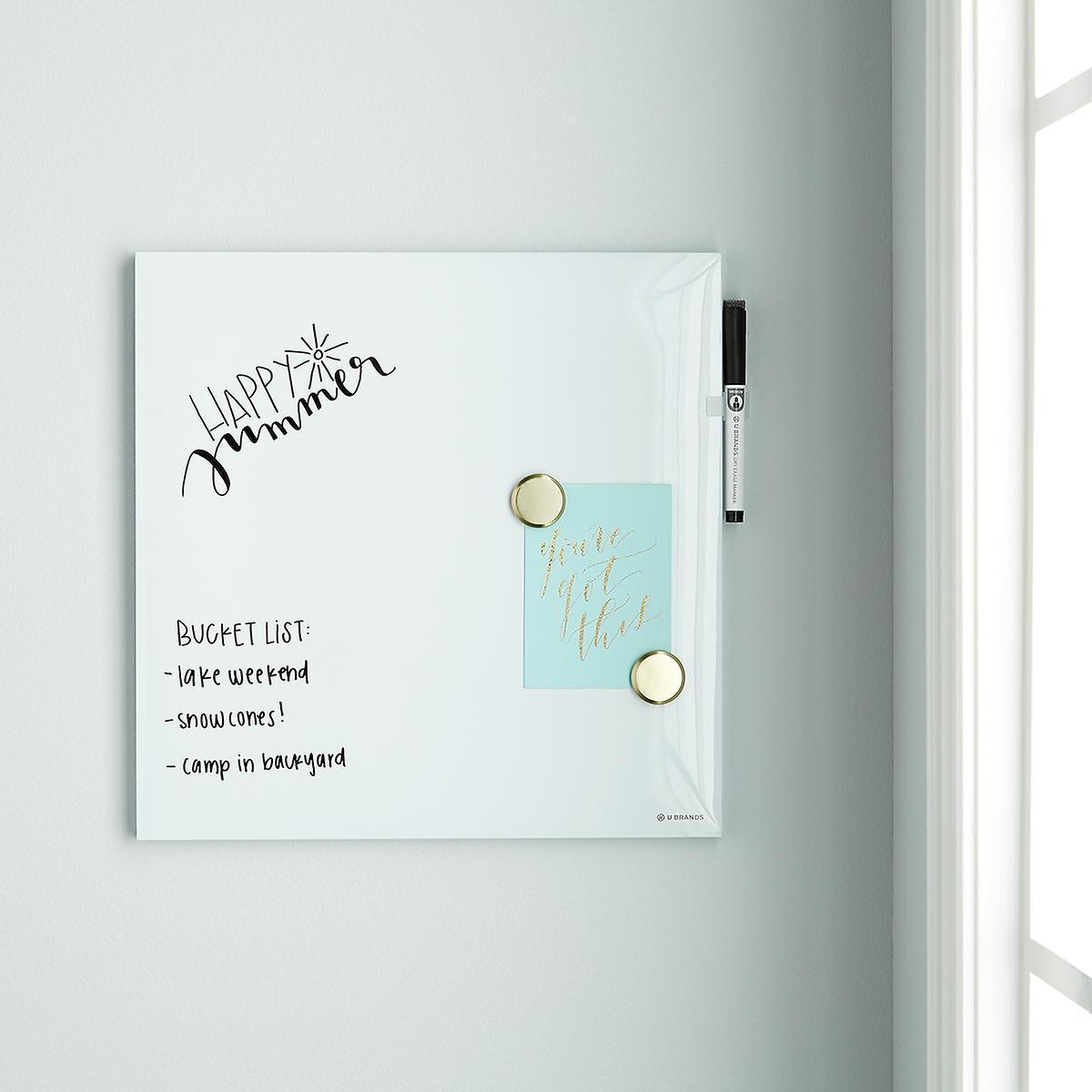 U-Brands White Square Dry Erase Board