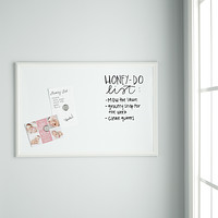 U-Brands White Large Farmhouse Dry Erase Board