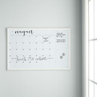 Dry Erase Calendar The Container Store