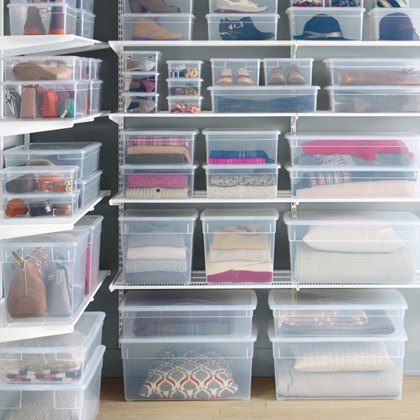 Our Clear Storage Box Cases