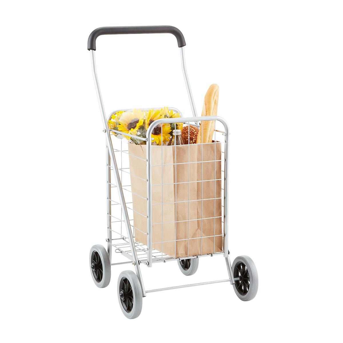 Steel Shopping Cart & Liner