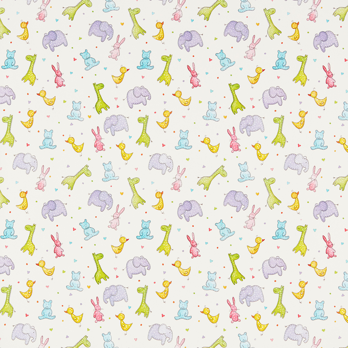 Animal Kwackers Wrapping Paper Sheets