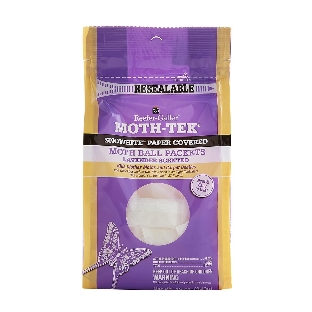 12 oz. Moth-Tek Lavendar Packets