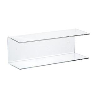 Double Acrylic Wall Shelf