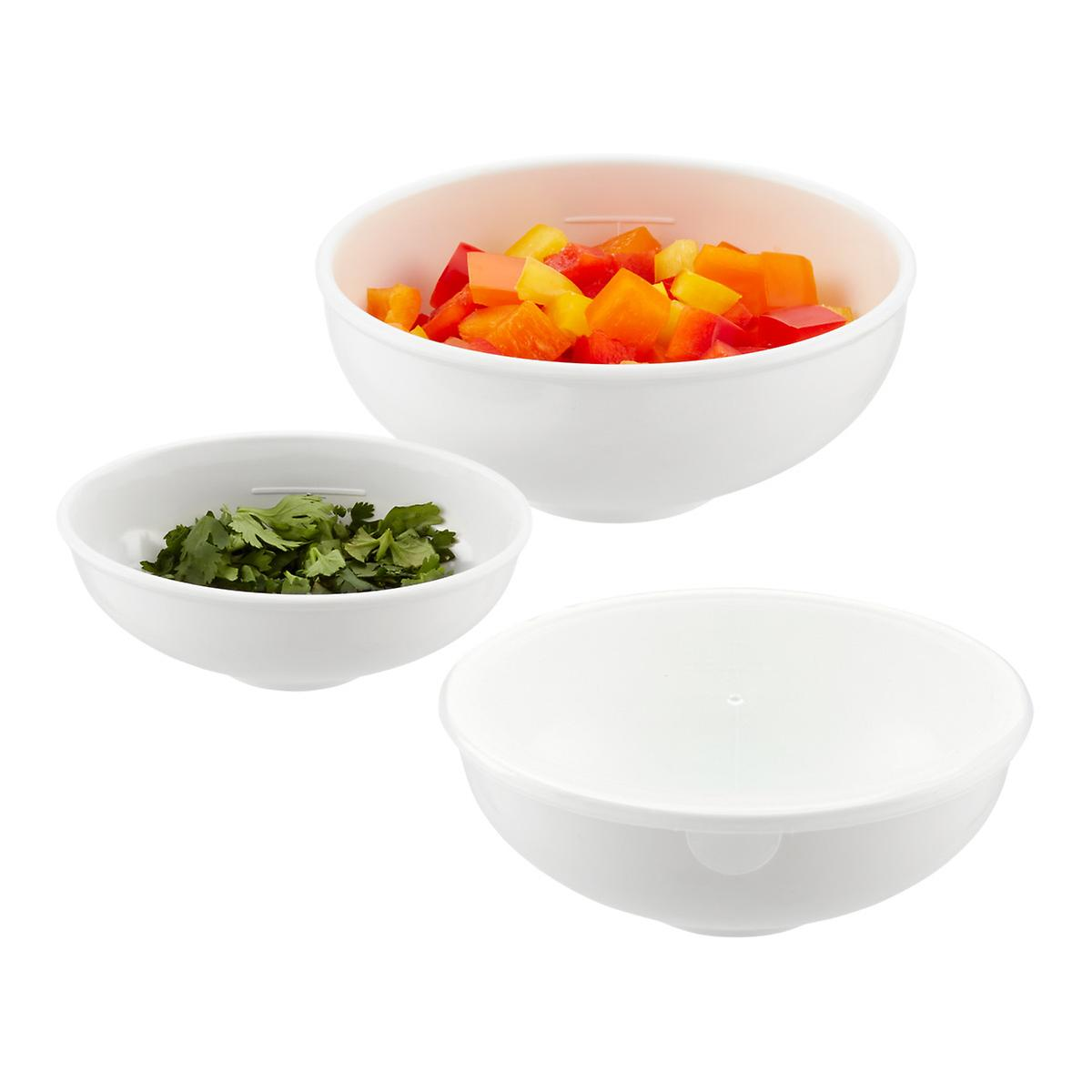 Melamine prep bowls the container store for Cuisine melamine
