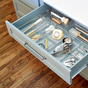 kitchen drawer dividers kitchen storage amp kitchen organization supplies the 11624