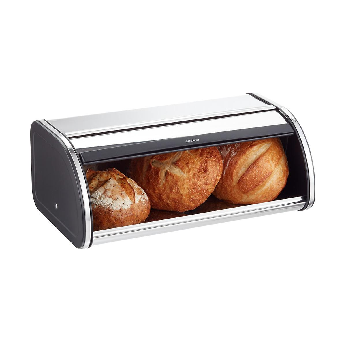 Brabantia Chrome Bread Box