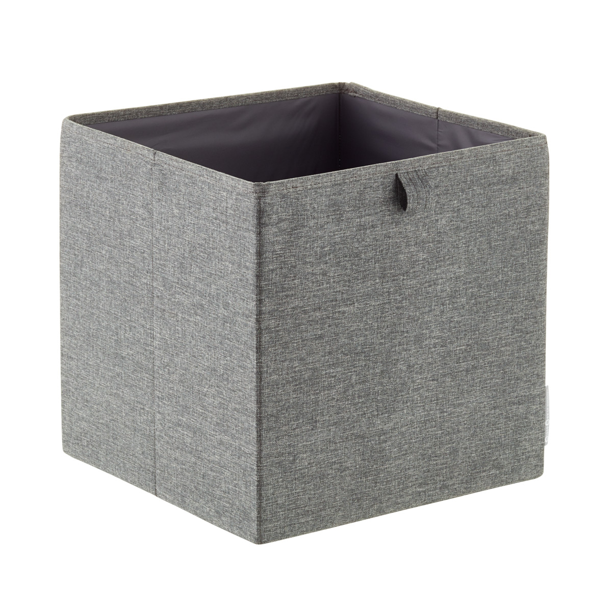 Bigso Grey Fabric Storage Cube
