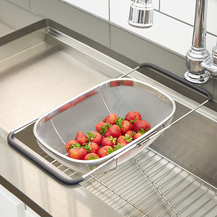 Polder Stainless Steel Mesh Sink Basket