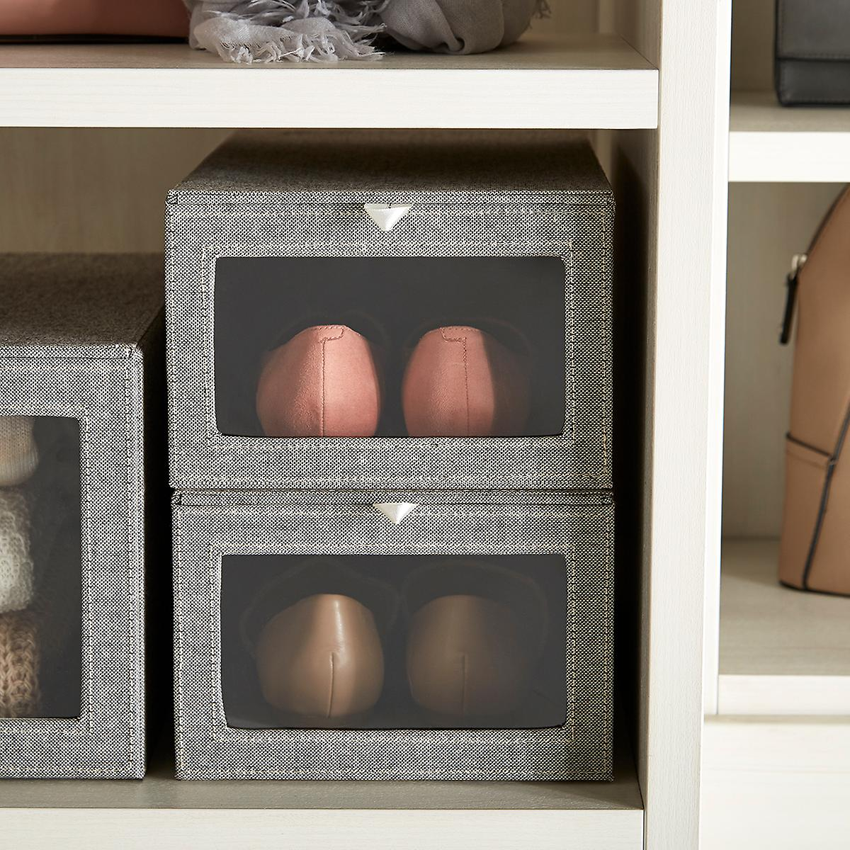 Storage Boxes Fabric Bins Decorative Clothes Boxes The