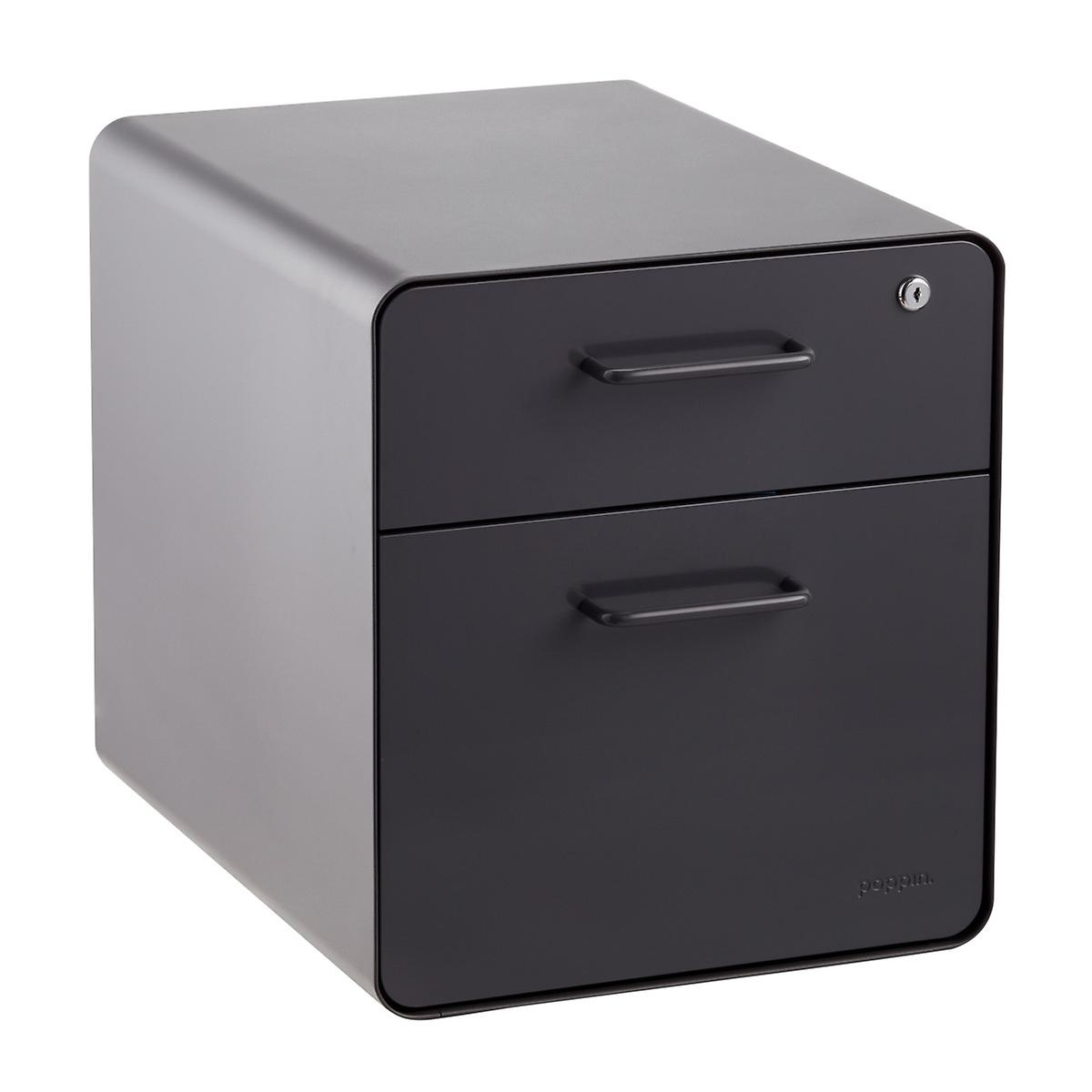 file cabinet seat poppin grey mini 2 drawer stow filing cabinet with 15349